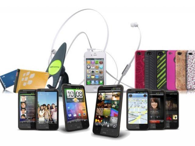 携帯電話および付属品